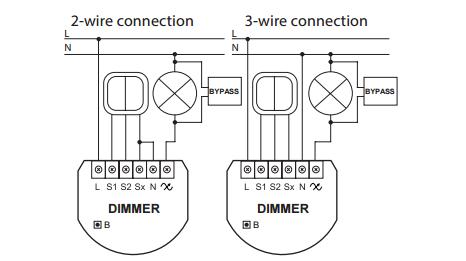 Fibaro Bypass 2 wiring